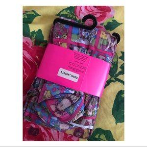 Betsey Johnson Accessories - Betsey Johnson Printed Tights Hosiery